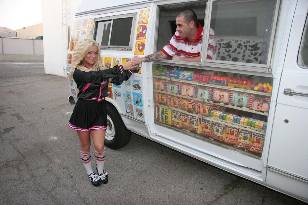 Icecream truck perfect titty teen gets plowed hard and cum i 3
