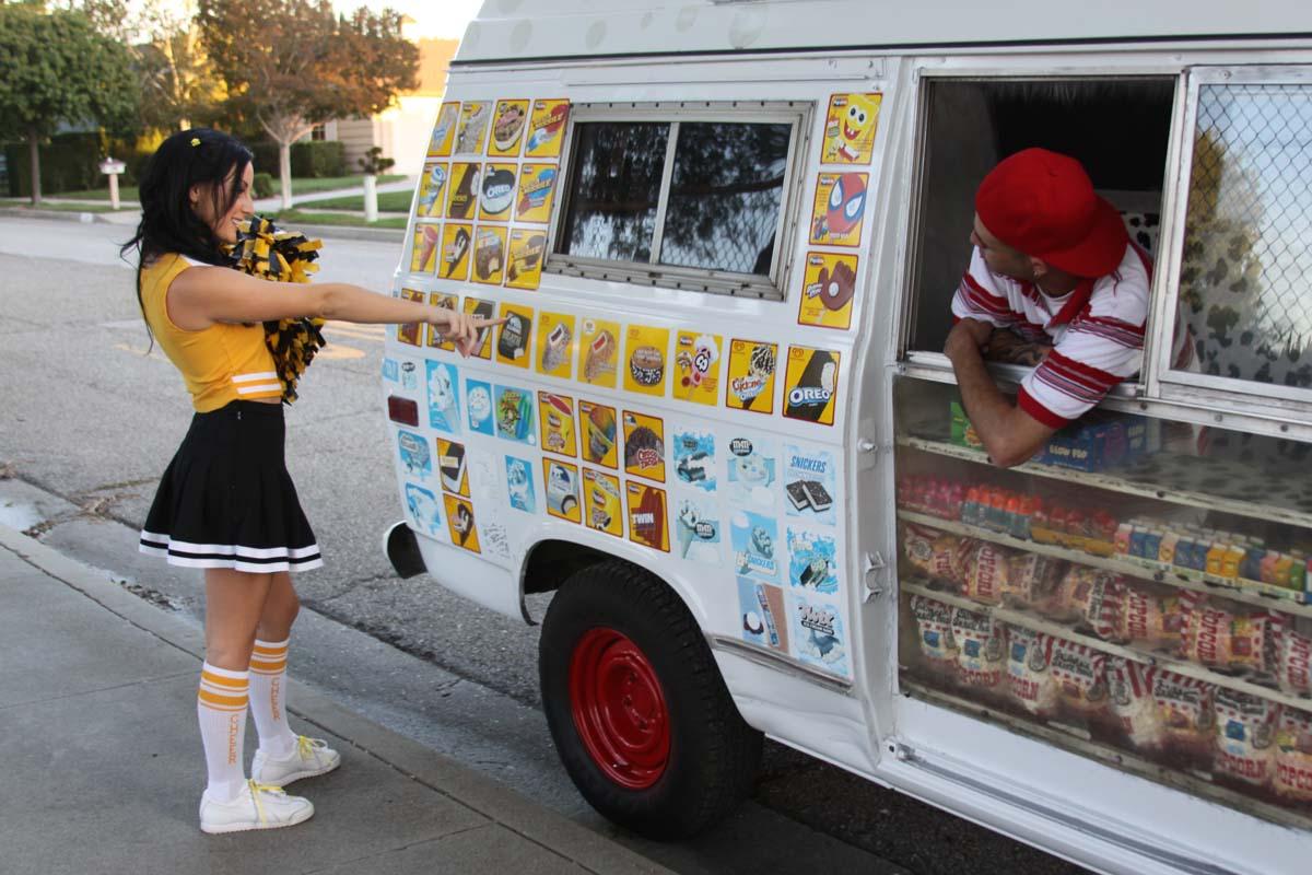 Icecream truck cute teenager blond schoolgirl gets fucked ha 3